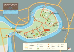 แผนที่เส้นทาง bike & boat